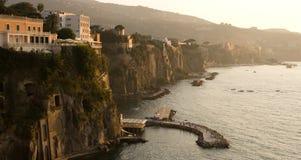 Free Sorrento Coast Sunset Royalty Free Stock Photos - 51895588
