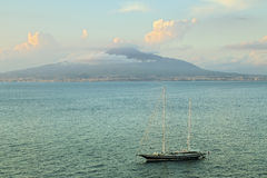 Sorrento coast view, Naples. Italy Stock Photo