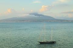 Sorrento coast view, Naples Stock Photo