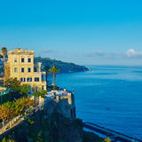Sorrento is expensive and most beautiful European Royalty Free Stock Photography