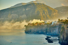 Sorrento is expensive and most beautiful European Stock Photo