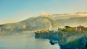 Sorrento is expensive and most beautiful European Royalty Free Stock Photos