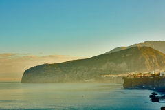 Sorrento is expensive and most beautiful European Stock Photography