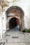 Sorrento gate. The old gate of the old town of sorrento in italy Stock Photo