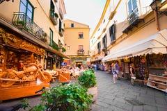 Sorrento Italië stock foto's