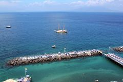 Sorrento, Italie photo stock