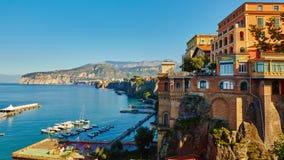 Sorrento, Italie Station de vacances européenne Image libre de droits