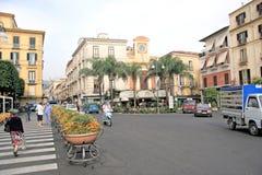 Sorrento Italien Fotografering för Bildbyråer