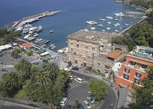 Sorrento, Italy. View of Marina Piccola, Sorrento, Italy Stock Photo