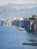 Sorrento, Italy. Beautiful view on Sorrento coast, Italy Royalty Free Stock Images