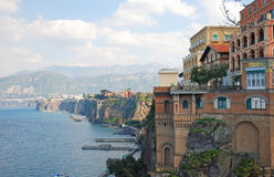 Sorrento, Italy. Beautiful view on Sorrento coast, Italy Royalty Free Stock Photo