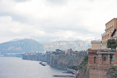 Sorrento, Italy. Coast of Sorrento, Italy Stock Image