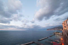 Sorrento, Italy. Evening in Sorrento, Italy royalty free stock photos