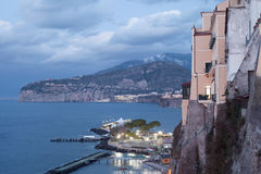 Sorrento, Italy. Evening in Sorrento, Italy Royalty Free Stock Images