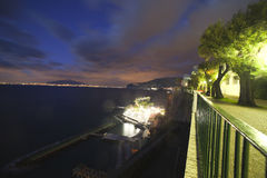 Sorrento, Italy. Evening in Sorrento, Italy royalty free stock image