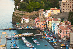 Sorrento Italy. SORRENTO, ITALY - OCT. 7:  Sorrento, Italy as seen on Oct. 7, 2010.   A popular tourist destination overlooking the Bay of Naples, Sorrento ( Stock Image