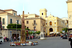 Sorrento Italy. City center of Sorrento in the Amalfi Coast in Italy Stock Images
