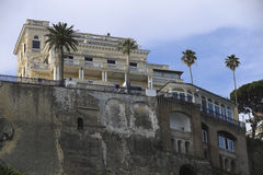 Sorrento, italy. Sorrento, city in mediterranean coast of italy Royalty Free Stock Photography