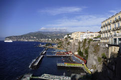 Sorrento, italy. Sorrento, city in mediterranean coast of italy Stock Photo