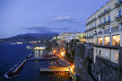 Sorrento, italy. Sorrento, city in mediterranean coast of italy Royalty Free Stock Images