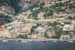 Sorrento, Italy. July 15: View of the town of Sorrento.View of Marina Grande, Sorrento. Sorrento is one of the towns of the Amalfi Coast,expensive and most Stock Photos