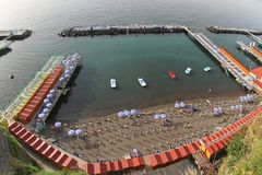 Beach Sorrento Royalty Free Stock Photo