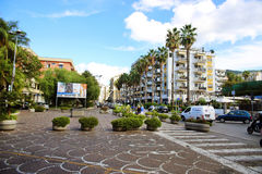 SORRENTO, ITALY - OCTOBER 9, 2016: street view in Sorrento, Italy Stock Photo