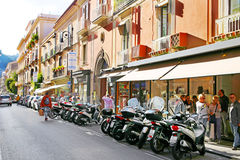 SORRENTO, ITALY - OCTOBER 9, 2016: street view in Sorrento, Italy Stock Photos