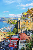 SORRENTO, ITALY - OCTOBER 9, 2016: street view in Sorrento, Italy Royalty Free Stock Image
