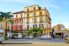 SORRENTO, ITALY - OCTOBER 9, 2016: street view in Sorrento, Italy. Street view in Sorrento, Italy Stock Images