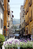 Sorrento Italy. Sorrento is a town and comune in the Metropolitan City of Naples, in Italy Stock Image