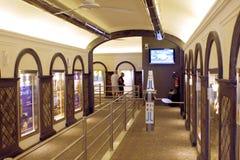 Sorrento Lift Corridor Italy Stock Photo