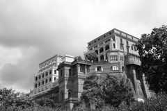 Sorrento. A luxury hotel on the cliffs of Sorrento stock images