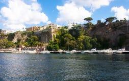 Sorrento Marine, Naples,Italy. Stock Image
