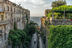 Sorrento is a pearl of Italy Stock Photography