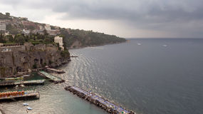 Sorrento is a pearl of Italy Stock Images