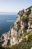 Sorrento peninsula. Panoramic view of the sorrento coast, Italy Stock Photo