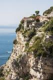 Sorrento peninsula. Panoramic view of the sorrento coast, Italy Stock Photography