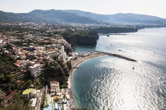 Sorrento peninsula Royalty Free Stock Image