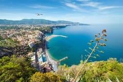 Sorrento popular tourist destination in Italy Stock Image