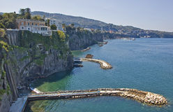 Sorrento's view Stock Photos