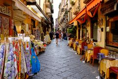 A Sorrento side street. Stock Image
