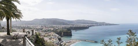 Sorrento and the Sorrento coast Stock Photo