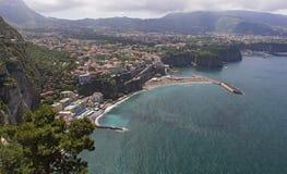 Sorrento - Sorrento Coast. Sorrento - Seiano - Sorrento Coast - Sorrento peninsula Stock Image