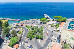 Sorrento, southern Italy. Port of Sorrento, southern Italy Stock Images