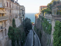 Sorrento street view Stock Photos