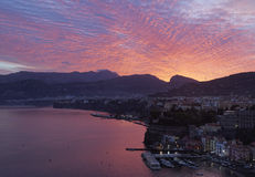 Sorrento sunrise Stock Images
