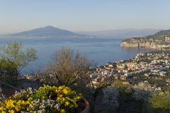 Sorrento. View of sorrento - amalfi coast - italy Stock Photos