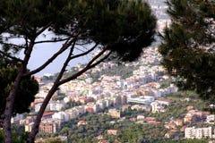 Sorrento view  Italy Royalty Free Stock Photos