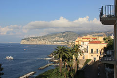 Sorrento Vista Stock Photo